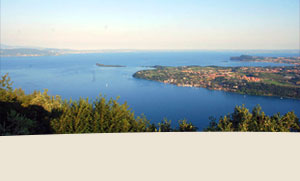 nei dintorni del Lago di Garda